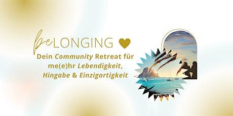 beLONGING - Dein Community Retreat auf Ibiza tickets