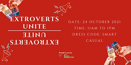 Extroverts Unite! (Online) (CALLING FOR LADIES) tickets