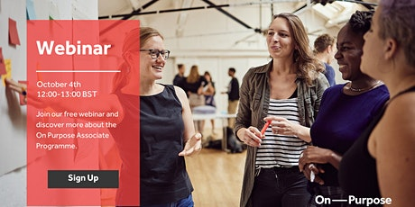 Discover more about the Associate Programme - Apply for April 2022 tickets