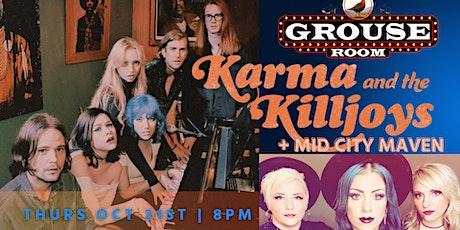 KARMA & THE KILLJOYS tickets
