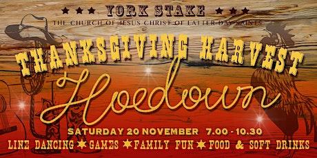 Thanksgiving Harvest Hoedown tickets