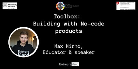 Toolbox: Building with No-code products tickets