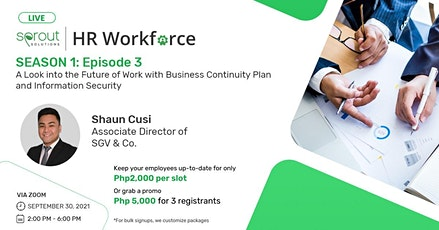 A Look into the Future of Work with Business Continuity Plan & Information tickets