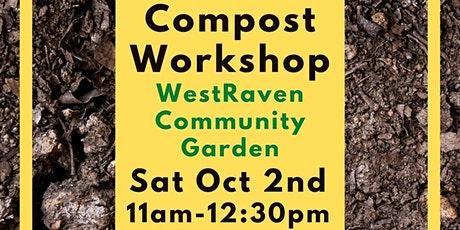 Compost Workshop - How to make the perfect compost tickets
