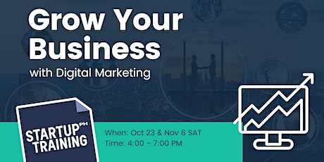 Grow Your Business with Digital Marketing - A Strategy Development Workshop tickets