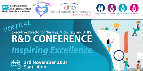 Inspiring Excellence- Nursing, Midwifery and AHPs Research and Development tickets