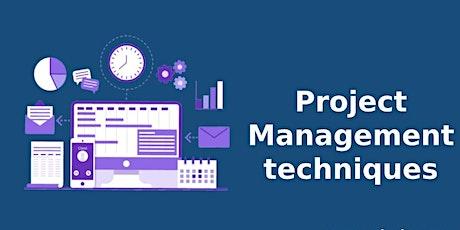 Project Management Techniques Classroom  Training in Burlington, VT tickets