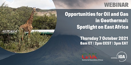 Opportunities for Oil and  Gas in Geothermal: Spotlight on East Africa tickets