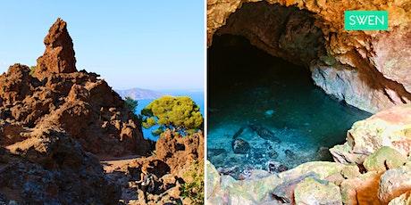 Πεζοπορία στο Ηφαίστειο Μεθάνων, Σπήλαιο Περιστέρας & Παραλία Παλαιοκάστρου tickets
