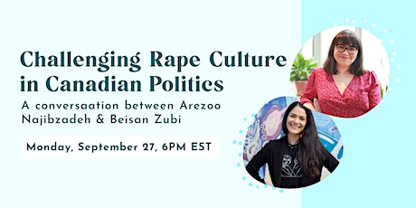 Challenging Rape Culture in Canadian Politics tickets
