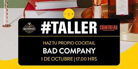 TALLER DE COCTELERÍA DIY (BAD COMPANY) entradas