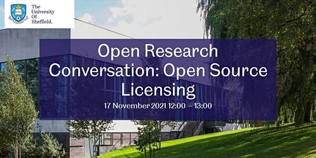 Open Research Conversation: Open Source Licensing tickets