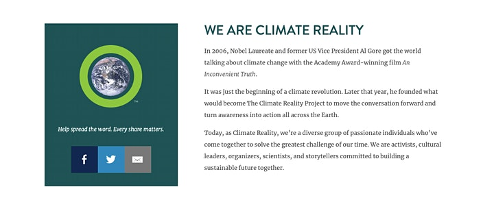 Immagine Climate Action Now! - Climate Reality Project EU - TEAM ITALY