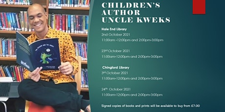 Meet The Author – Uncle Kweks (Chingford Library) tickets