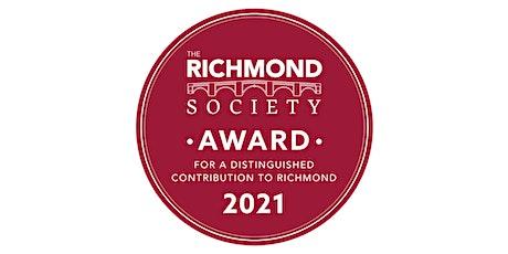 Richmond Society Awards Evening tickets