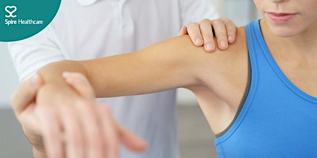 Free online information event on shoulder, arm and hand pain tickets