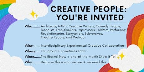 [FREE] Interdisciplinary Experimental Creative Collaboration Experience tickets