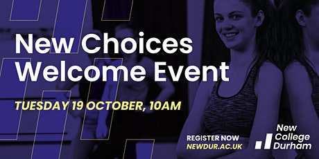 New Choices Welcome Event Tickets