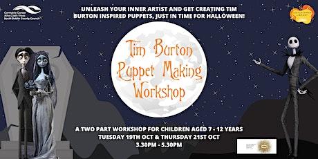 Tim Burton Puppet Making Workshop tickets