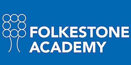 Folkestone Academy Sixth Form Open Evening 2021 billets