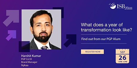 ISB PGP Digital Info-session |India| 4 PM - 6 PM tickets