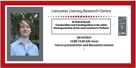 Translocalism: online literacy practices of non-local teachers in Thailand tickets