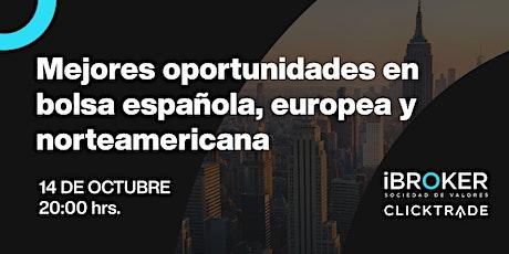 Conferencia de trading con David Galán: Oportunidades en bolsa entradas