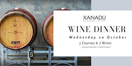 Xanadu x Sentinel Wine Dinner tickets