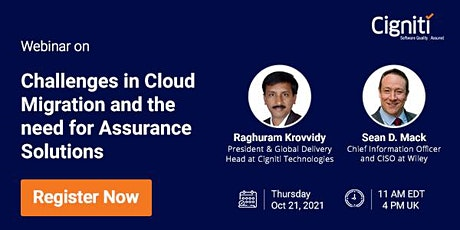 Challenges in Cloud Migration and the need for Assurance Solutions tickets