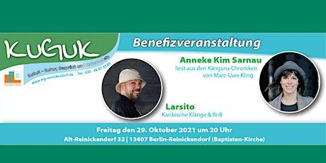 Anneke Kim Sarnau & Larsito - KINDERHILFE e.V. Benefiz am 29. Oktober 2021 Tickets