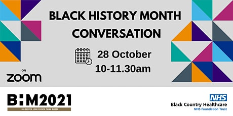 Black History Month Webinar tickets