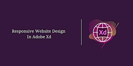 Responsive Website Design In Adobe Xd tickets