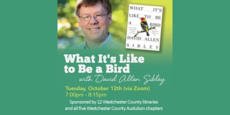 David Sibley: What It's Like to Be a Bird tickets