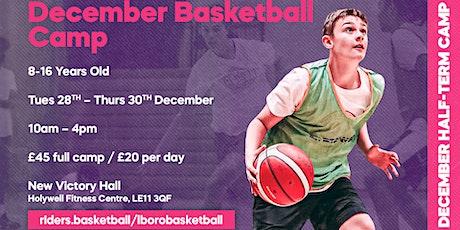December Half-Term Basketball Camp tickets