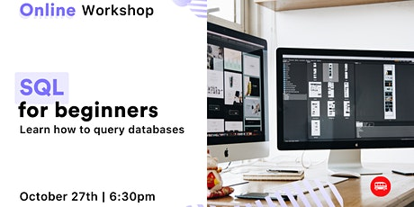 [Free, online workshop] Learn how to query databases with SQL tickets