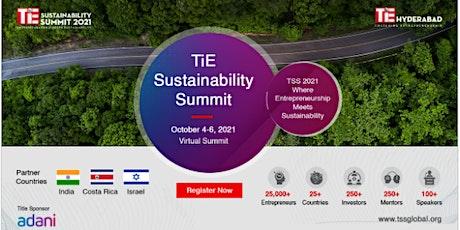 TiE Sustainability Summit 2021 | TSS 2021 tickets