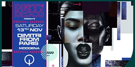 Dirty Disco presents Dimitri From Paris tickets