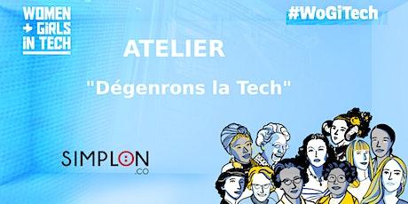 """Atelier """"Dégenrons la tech"""" by Simplon billets"""