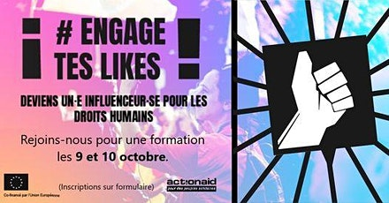 Engage Tes Likes ! - Journées de formation tickets