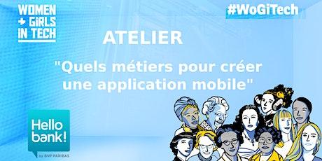 """Atelier """"Quels métiers pour créer une application mobile?"""" by BNPParibas billets"""