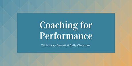 Coaching for Performance tickets