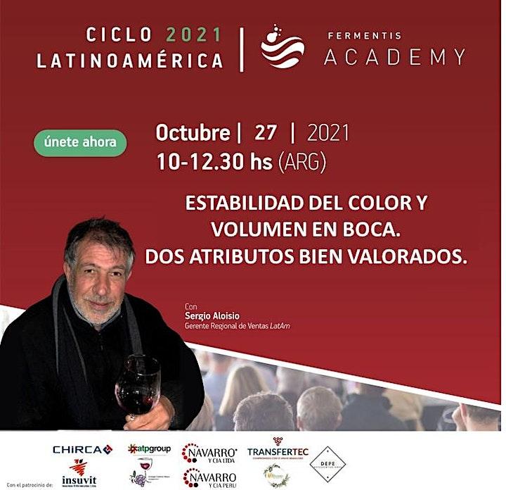 Imagen de Fermentis Academy Vinos - Segundo Ciclo de Seminarios Online 2021