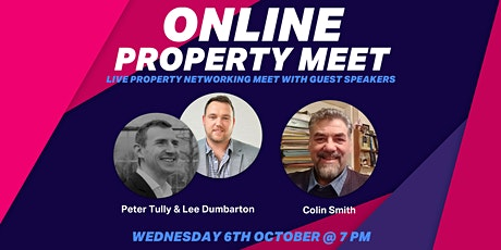 October's Online Property Networking Meet With Special Guests! tickets