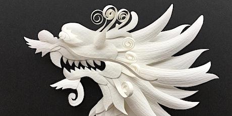 Dragon Dimensional Paper Sculpture Workshop with Tiffany Budzisz tickets