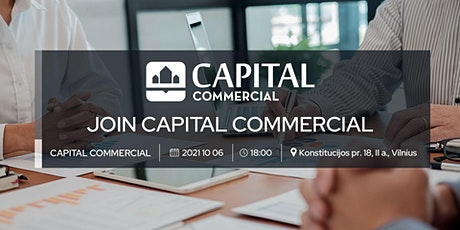 JOIN CAPITAL COMMERCIAL tickets
