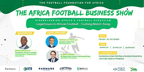 The Africa Football Business Show EP 24 tickets