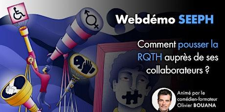 SEEPH : Comment pousser la RQTH auprès de ses collaborateurs ? billets