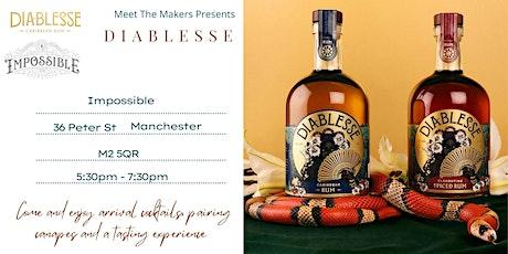 Meet the makers present Diablesse rum tasting tickets