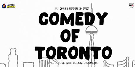 Comedy of Toronto tickets