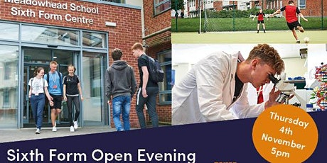 Meadowhead Sixth Form Open Evening tickets